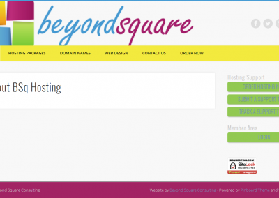 Beyond Square Hosting