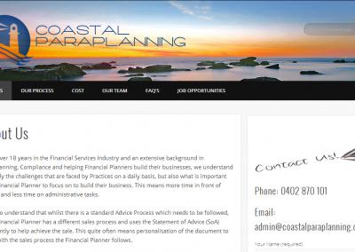 Coastal Paraplanning