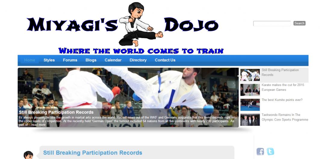 miyagisdojo website