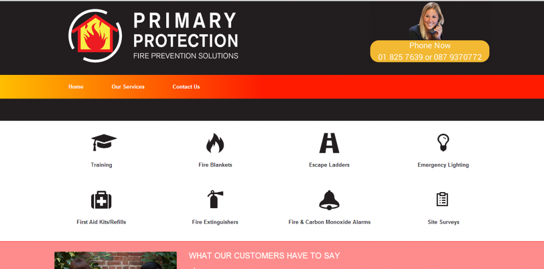 primaryprotection web design