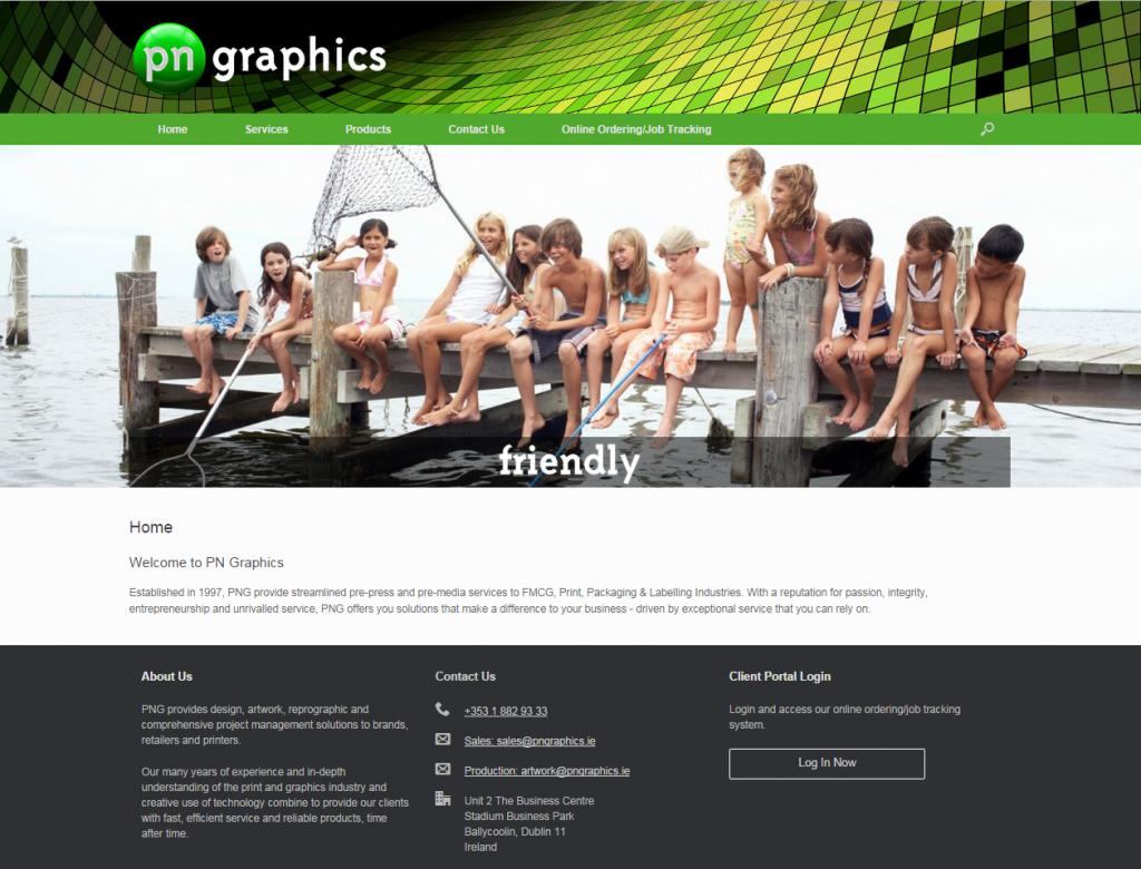 pngraphics website dublin