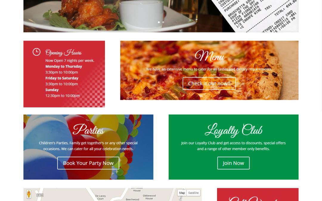 La Pizzeria Bella Sora – Website
