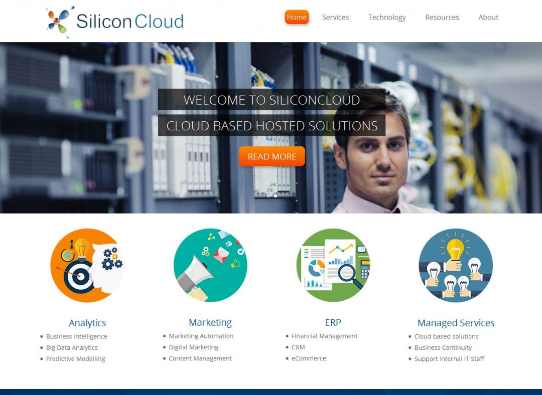 SiliconCloud web design dublin sandyford