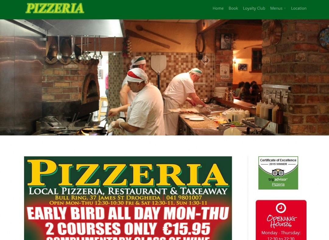 pizzeria website drogheda