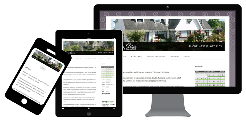 B&B responsive website. Find us in Ratoath, Dublin, Ireland