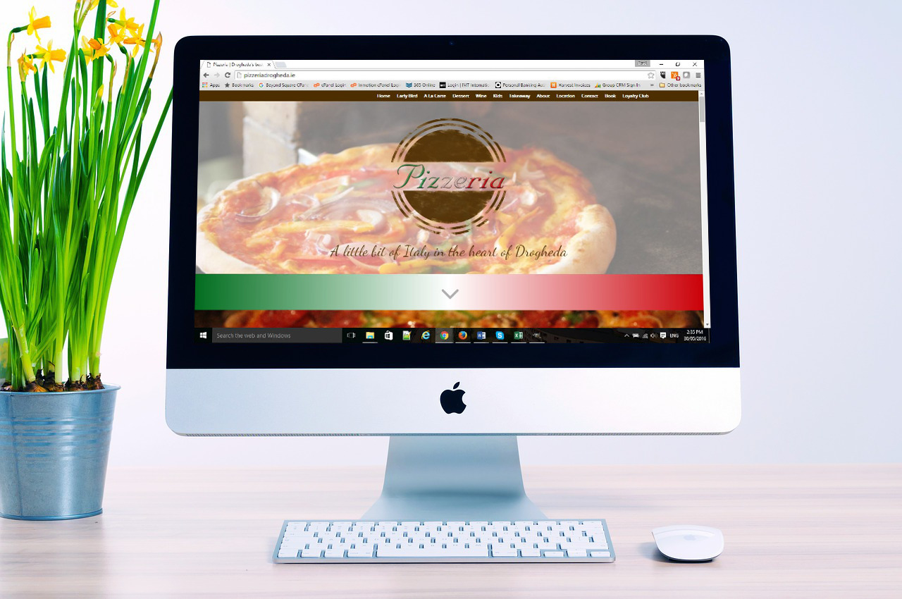 Pizzeria Web Design Makeover